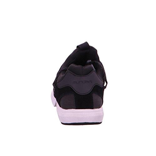 Noir Chaussures à pour Munda rt Lacets de Homme Ville 8fwRzq6