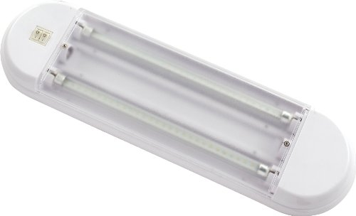 Gold Stars F3528012 Natural White LED Tube Light Fixture (T5 base 2 x 180 Lumens 12v or 24v)