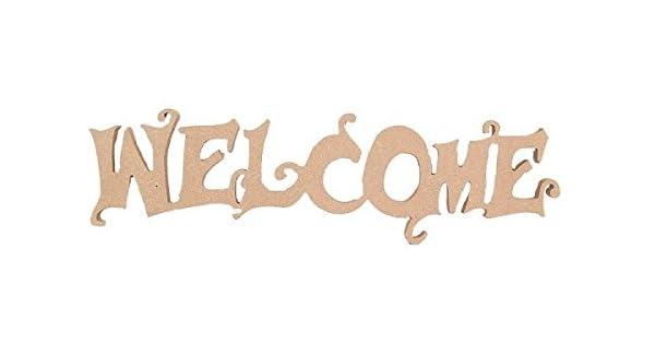 Amazon.com: Country Love Crafts – Señal de bienvenida de ...
