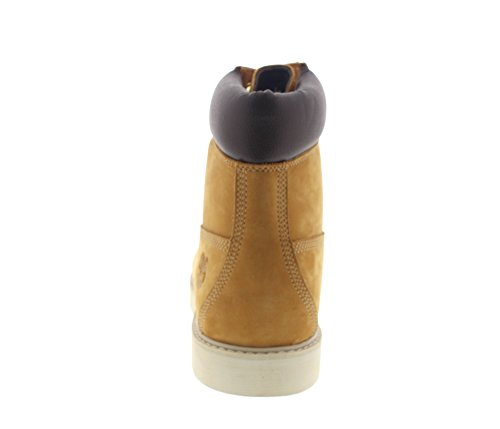 Newmarket 6 Inch Wedge Boot Waterproof C44529 - Wheat Nubuck Marron