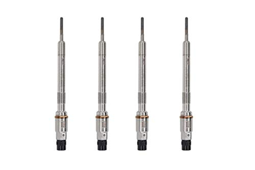 (Pack of 4 Diesel Glow Plugs For VW Jetta Touareg Golf Passat Beetle Audi A3 A6 Q7)