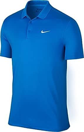 Nike MDN Fit Victory Solid LC Polo de Manga Corta, Hombre: Amazon ...