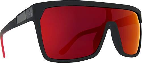 FLYNN SOFT MATTE BLACK/RED FADE - HAPPY GRAY GREEN W/RED ()