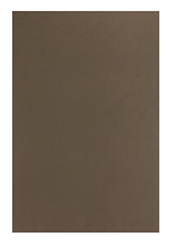 Hygloss Sheets for Crafts Colorful Foam for DIY Arts & Craft, Brown, 10 Piece ()