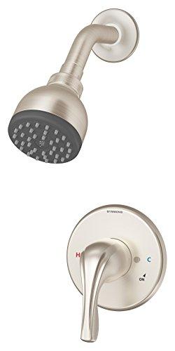 (Symmons 9601-PLR-STN Origins 1-Handle Shower Faucet, Satin Nickel)