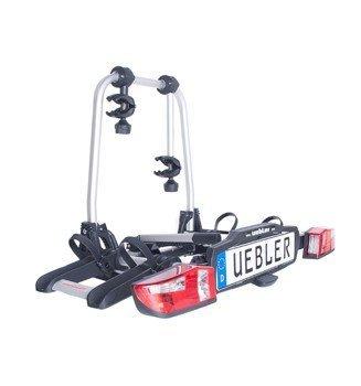 Uebler 15760 Anhängerkupplungsträger X21-S für 2 Fahrräder mit EuroBE und gabe, E-Bike geeignet