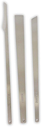 SPRUCE: 3 Piece Professional Stainless Steel Pedicure Knives
