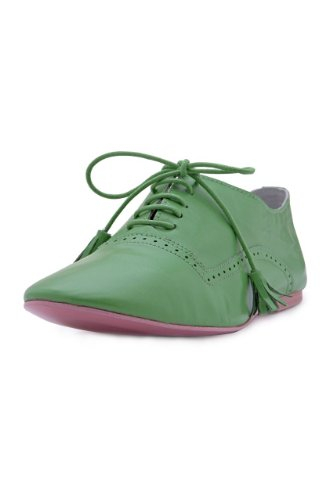 Dolce Dolce Shoe to Tie FESTIVAL, Color: Green, Size: 37