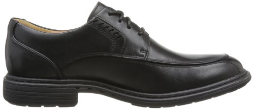 Clarks Rage 20354992, Scarpe stringate basse uomo Nero (Black Leather)