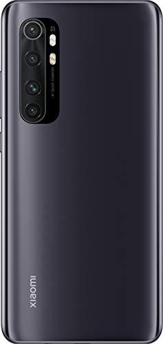 """Xiaomi Mi Note 10 Lite (Pantalla FHD+ 6.47"""", 6GB + 64GB; Cámara 64MP, Snapdragon 730G, Dual 4G, 5260mAh con Carga rápida 30W, Android 10) Negro [Versión ES/PT]"""