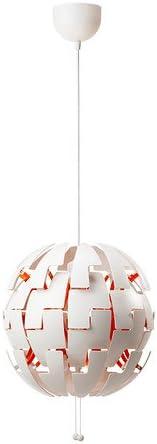 Ikea 2014 Pendant Lamp, White, Orange 10210.232926.1818