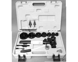 L.H. Dottie HPTK1 13 Piece Hydraulic Punch Kit 1/2 - 2-1/2 Inch 12 ton Capacity by Dottie