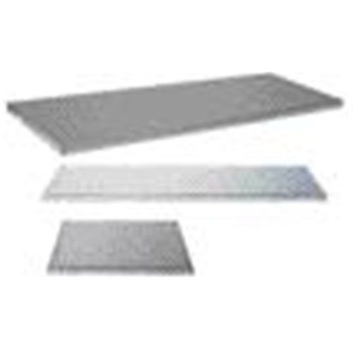 Justrite Steel Shelf For Sure-Grip EX Safety Cabinets - 13 1/4'' X 13'' Steel Shelf For 4 Gallon Safety Cabinets - 29935