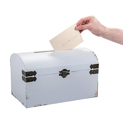Fun Express White Vintage Wedding Cardbox