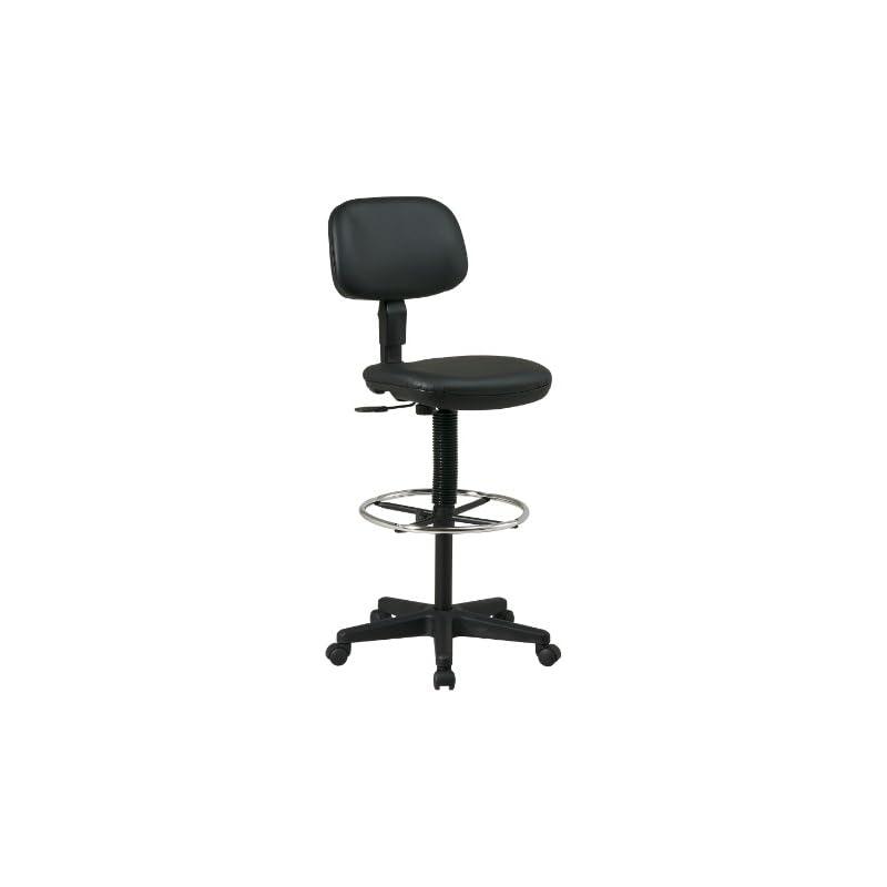 office-star-sculptured-vinyl-seat