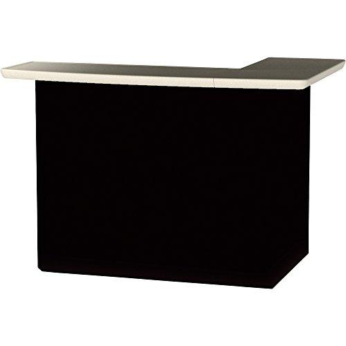 Best of Times Black Portable Bar, Model# 5432
