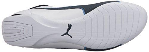 Puma Mens BMW MS Future Cat S2 Fashion Sneaker Puma White/Team Blue