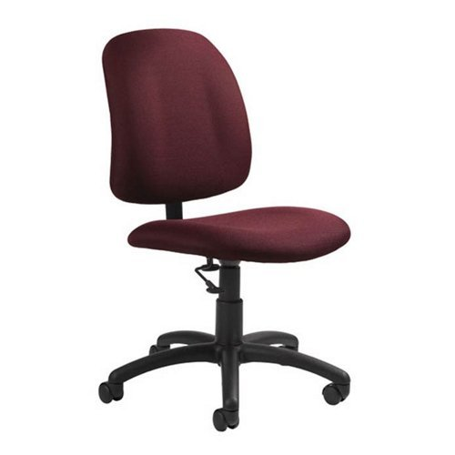 Global Office 2239-6BK-PB09 Goal Low Back Armless Office Chair