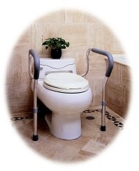 Frame Toilet Safety Adjustable - Item Number D101 - 4 Each / Case -