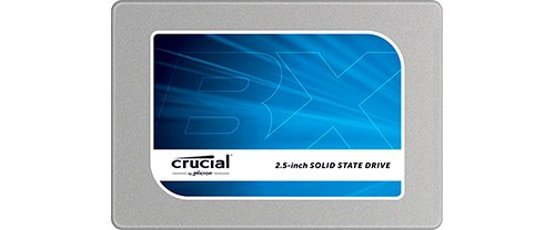 """- (OLD MODEL) Crucial BX100 250GB SATA 2.5"""" 7mm (with 9.5mm adapter) Internal Solid State Drive - CT250BX100SSD1"""
