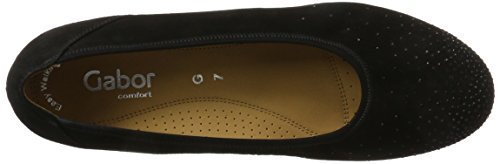 Femme Femme Sport Gabor Comfort Shoes Comfort Ballerines Ballerines Shoes Noir Schwarz Sport Gabor Noir ZxqqBw5P