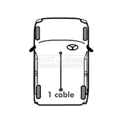 Firstline Parking Brake Cables Part Number: FKB2152: