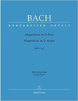 Magnificat D-dur Bwv 243, Klavierauszug por Alfred Dürr epub