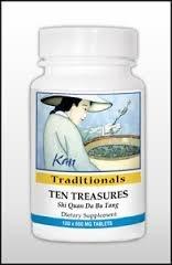 Ten Treasures 60 Tablets (Traditional Treasures)