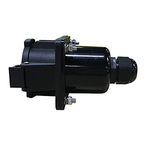 KHONS J1772 32a Receptacle Type 1 Vehicle Side Inlet EVSE Connector (32 Amp, 110V-240V) 4 Point Fixing North American Standard UL Rated by K.H.O.N.S. (Image #2)