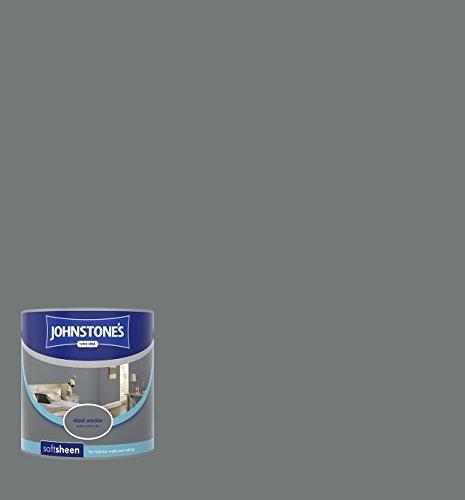 Johnstone's 305986 Vinyl Soft Sheen Emulsion - Steel Smoke,2.5 by Johnstone's