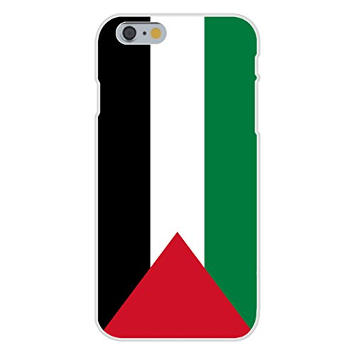 Apple iPhone 6 Custom Case White Plastic Snap On - Gaza Strip (Palestine) - World Country National Flags