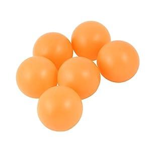 Kunststoff-Tischtennisbälle Tischtennis 40mm Durchmesser 6 PC-orange