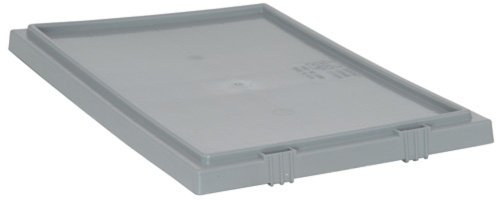 Quantum LID231GY 3-Pack Lid for SNT225 and SNT230 Stack and Nest Totes, Gray by Quantum Storage Systems