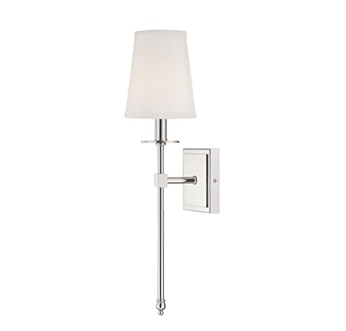 Savoy House Nickel Sconce - 1