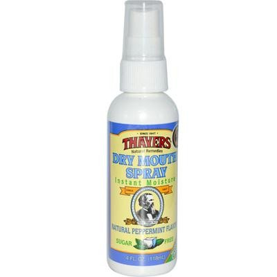Thayers - Thayers Dry Mouth Spray Peppermint - 4 fl oz ()