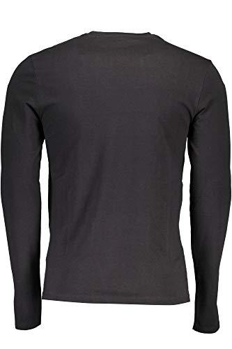 Nero Lunghe M84i00j1300 Jeans Maniche Guess shirt T Jblk Uomo Fq6n1vH