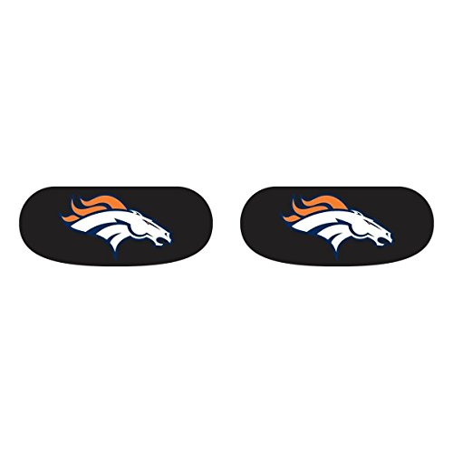 NFL Denver Broncos Logo 6 Pack Eye Black Strips Vinyl Face Decorations Stickers -