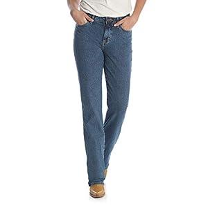 Wrangler Women's Cowgirl Cut Slim Fit High Rise Stretch Jean