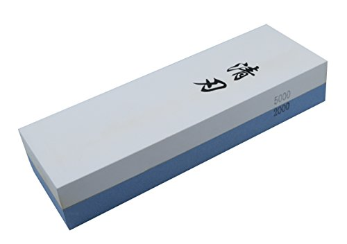 Kota Japan # 2000-5000 Grit Premium Whetstone. Knife Sharpening Stone VALUE BUNDLE Kit. ENJOYABLE, Smooth, EFFORTLESS. NO-SLIP Base, Utmost SAFETY, Superior QUALITY,, Perfect GIFT!!