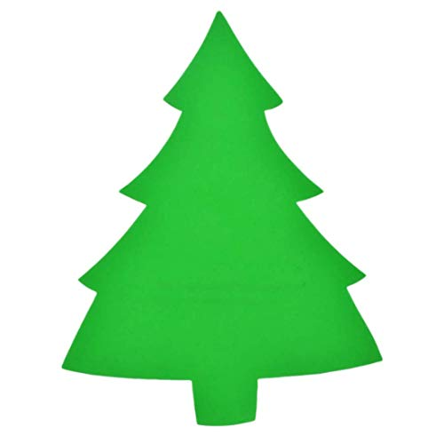 - 12 Crafter's Square Foam Shapes 8 Inches Tall (Christmas Tree)