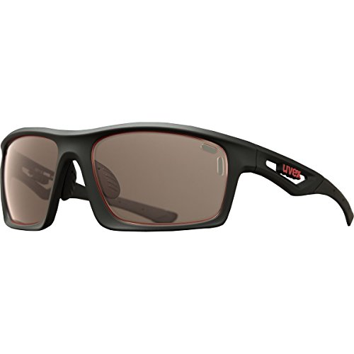 Uvex Sportstyle 700 Variomatic Sunglasses Black Matte/Rose, One Size - - Uvex Sunglasses