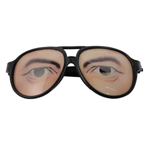 Halloween Cosplay Party DIY Decorations Funny Costume Eye Glasses Toy Holiday Prop Eyewear Gag Gift -