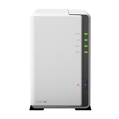 Synology Disk Station 2-Bay Network Attached Storage (DS215j)
