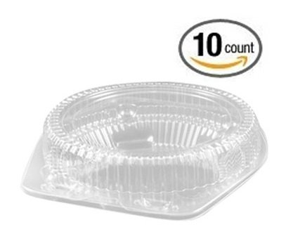 Clear Plastic Hinged Container Keeper