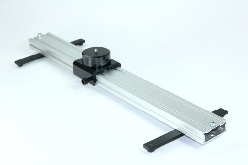 indiSystem 2ft Camera linear slider Dolly with legs