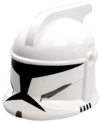 LEGO Star Wars Clone Wars Trooper Minifigure Helmet [x1 Loose]