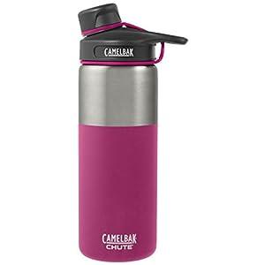 CamelBak Chute Vacuum Insulated Stainless Water Bottle, 20 oz, Honeysuckle