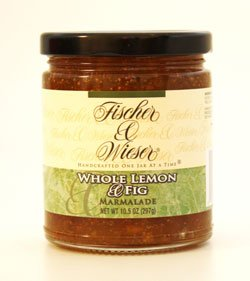 Fischer & Wieser Whole Lemon & Fig Marmalade 10.5 Oz (pack of 1)