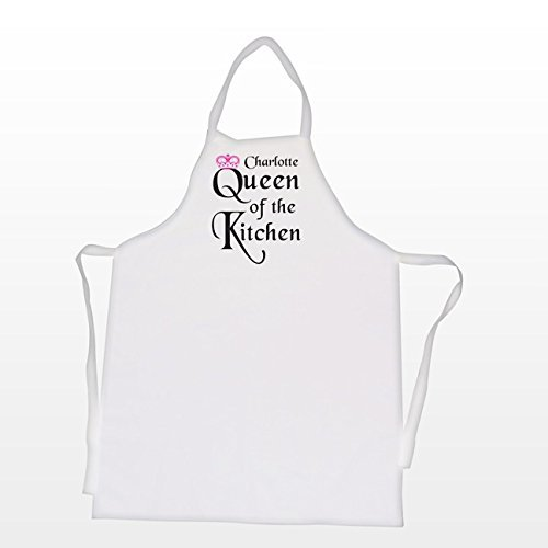 Personalised Queen of the Kitchen Apron by C.P.M.