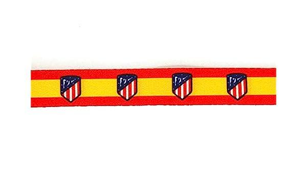 Gemelolandia 6 Pulseras Impresas Bandera España Atletico de Madrid: Amazon.es: Ropa y accesorios